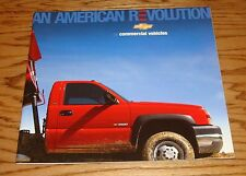 Original 2005 Chevrolet Commercial Vehicles Deluxe Sales Brochure 05 Chevy