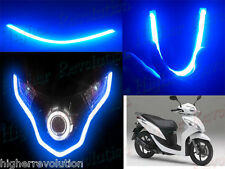 1 x Flexible Audi Style Neon Blue Tube DRL Light For Honda Dio