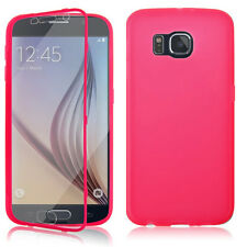 FLIP TPU SOFT SLIM WALLET SILICONE GEL CASE COVER FOR SAMSUNG GALAXY S3 S4 S5 S6