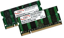 "4gb + 2gb 6gb ddr2 800mhz Apple iMac 8,1 RAM early 2008 20"" 24"" memoria SO-DIMM"