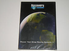 DVD Discovery Channel Power Tool Drag Racing Episode 1 Videotape