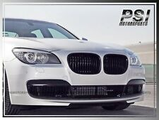 2009-2015 BMW F01 F02 7-Series Glossy Black Front Kidney Grille Kit 740i 750i