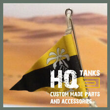 1/16 scale RC Tank German DAK Panzer Antenna Pennant for Heng Long / Tamiya