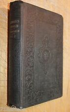 HOLIDAYS ABROAD OR EUROPE FROM THE WEST 1849 FIRST EDITION vol 2 only Kirkland