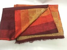 Traditional Moroccan Hand Loomed Sabra (Cactus Silk) and Wool Throw Blanket i...