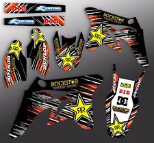 2013 2014 2015 KTM SXF SX-F 125 150 250 350 450 GRAPHICS KIT MOTOCROSS DECALS