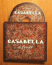 "CASABELLA - ""A Flower"" CD with gatefold card and plastic pack - Latin / Reggae"