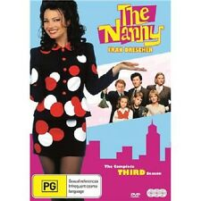 The Nanny - Series 3 (1995) * Fran Drescher 3-Disc Set * Region 2 (UK) DVD