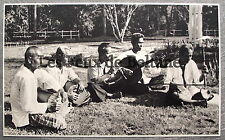 Document photo CAMBODGE MUSICIENS MAGICIENS SIEN REAP vielle tambour  clipping