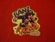 Banjo Kazooie Nintendo 64 N64 Vending Machine Sticker **RARE**