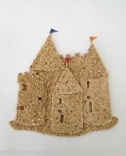 3D embellishment card Jolees by You picture brown sand castle palace JJHFG010B