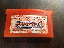Pokemon Fire Red Japanese Pocket Monsters GBA ~USA SELLER~ Battery Saves