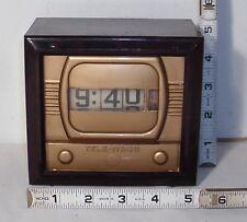 TELE-VISION T.V. DIGITAL ELECTRIC CLOCK WORKS 1950