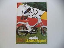 advertising Pubblicità 1982 APRILIA FILO G4L