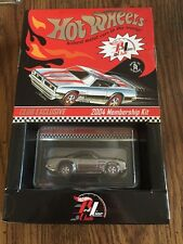 2004 HOT WHEELS PLYMOUTH CUDA BLACK OR BLUE STRIPE RED LINE CLUB KIT MIB