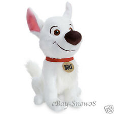 BOLT MOVIE 15 Inch Soft Plush Figure Bolt Disney Store Exclusive Limited New