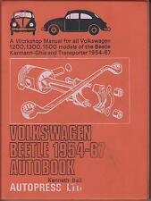 VW BEETLE & SPLIT SCREEN TRANSPORTER VAN BUS PICK-UP '54-67 OWNERS REPAIR MANUAL
