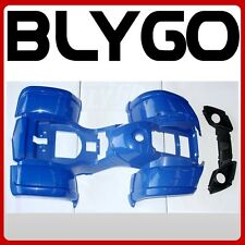 BLUE Plastics Fairing Fender Guard Cover Kit 250cc 300cc Farm Quad Dirt Bike ATV