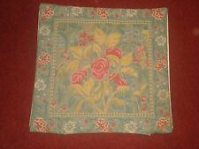 "BEAUTIFUL FRENCH COUNTRY FLORAL TAPESTRY PILLOW/CUSHION COVER 18"" x 18"""