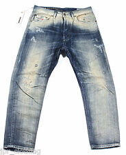BRAND NEW DIESEL NARROT 811A JEANS 29X32 0811A REGULAR CARROT FIT CROPPED LEG
