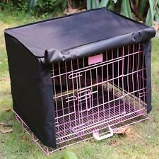 "Dog Crate Pet Cage Kennel COVER Quiet Time Breathable 18"" Size Small Black"