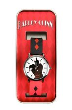 DC Comics Harley Quinn Mad Love Rubber Band Strap Watch New In Collectors Tin!