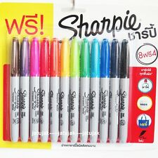 Sharpie Fine Point Marker Permanent Pack 12 Assorted Colors Promotion