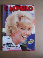 MONELLO n°32 1973 Minnie Minoprio + Figurine  [G552]