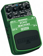 Behringer EM600 Echo Machine Modeling Effects Pedal Real sound modeling