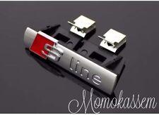 S-Line Sline Logo Emblem Schriftzug Grill für Audi A1 A4 A3 A5 A6 8E B6 B7+andre