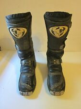"Thor YT-20 Motocross Boots Mens Size 5 Black 13"" Dirt Bike Off Road ATV"