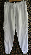 SEED HERITAGE ~ Cool Summer White Tencel Relaxed Fit Dressy Cargo Pants 10
