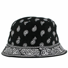 Bandana Paisley Bucket Hat Cap 5 panel snapback NEW