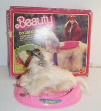 Vintage Barbie Dog Beauty with Box and Bed