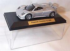 Pagani Zonda C12S in Silver 1-43 scale  new in case