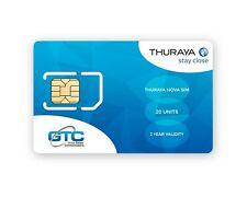 Thuraya Prepaid NOVA SIM Card for Thuraya Satellite Phones