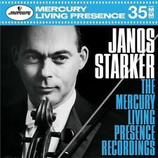 JANOS STARKER-THE MERCURY LIVING PRESENCE REC. 10 CD NEU
