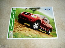 2004 Ford Explorer Sport Trac Adrenalin XLT XLS sales brochure dealer literature