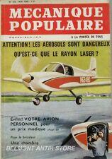 Mécanique Populaire n°216 - 1964 - Les aérosols - Rayon laser - Avion personnel