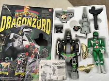 Power rangers Deluxe Dragonzord megazord - retro original release toy 100%