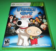 Family Guy: Back to the Multiverse Microsoft Xbox 360 *New *Free Shipping!