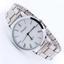 Man Women Couple Stainless Steel Watch Classic Analog Quartz Wrist Watch H1