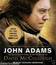NEW! John Adams by David McCullough [Audiobook]