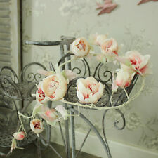 Pink rose flower wire garland wedding home girly accessories bedroom pretty