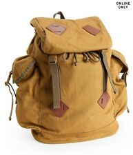 Aeropostale Aero Solid Parachute Buckle Backpack Military Canvas School Bag