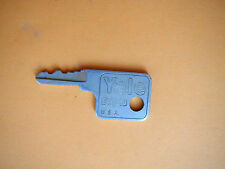 Vintage Yale Eaton Padlock Key Numbered PZB22 Aluminum Made In USA