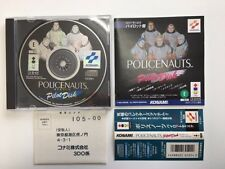 3DO POLICENAUTS Pilot Disk JAPAN JP GAME w/spine z176