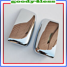 03-06 FORD EXPEDITION CHROME DOOR SIDE TOP HALF MIRROR COVERS TRIM SET BEZEL