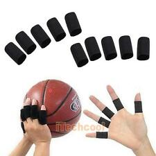 Elastic Stretch Basketball Volleyball Finger Guard Support Sleeves Protector