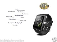 Smart Watch Bluetooth Sync Handsfree for iphone 5 5C 5S Samsung Galaxy HTC LG